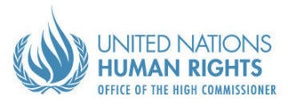 United Nations Human Rights Office of the High Commissioner logo