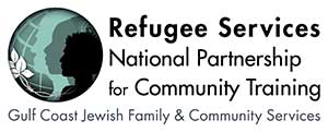 GCJFCS Refugee Services National Partnership for Community Training logo