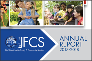 Gulf Coast JFCS Annual Report 2017-2018 image