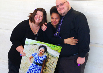 Photo of adoption family - Heart Gallery community