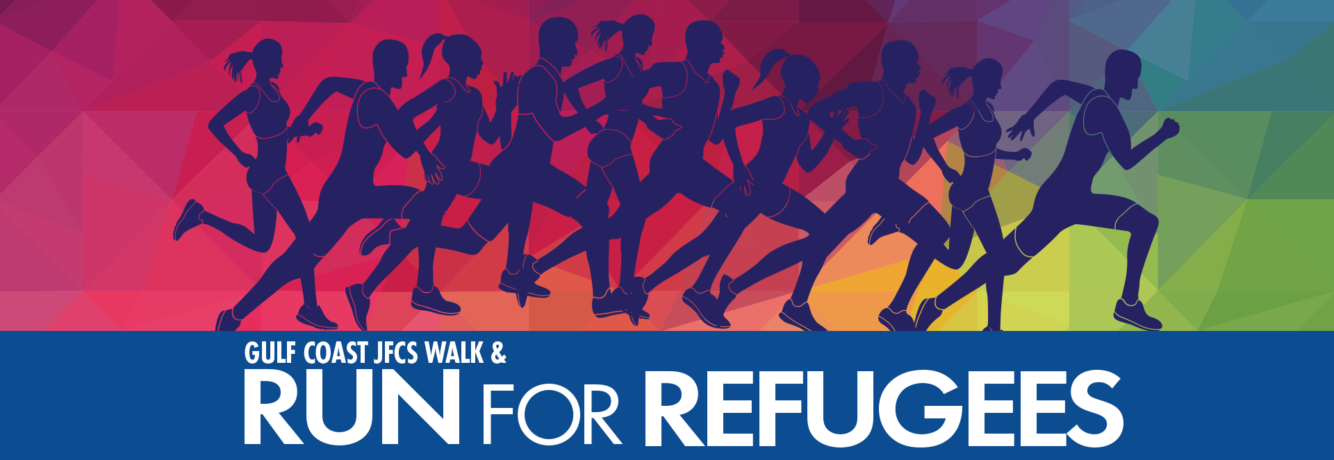 Run for Refugees banner