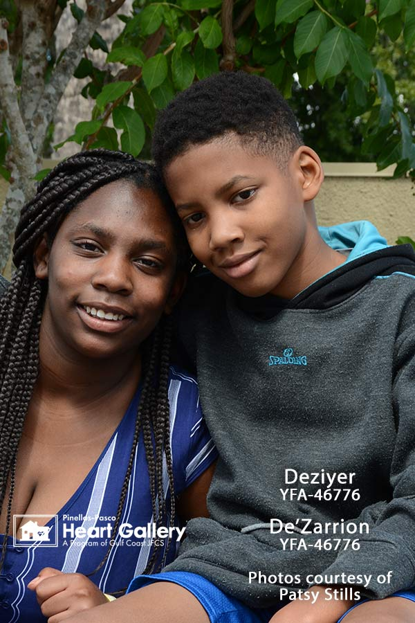 Photo of DeZarrion and Deziyer
