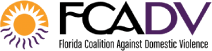 FCADV Florida Coalition Against Domestic Violence logo