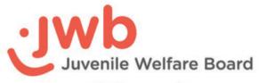 JWB Juvenile Welfare Board logo