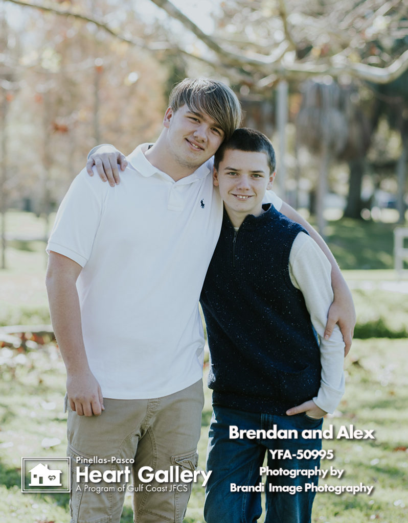 Brendan and Alex