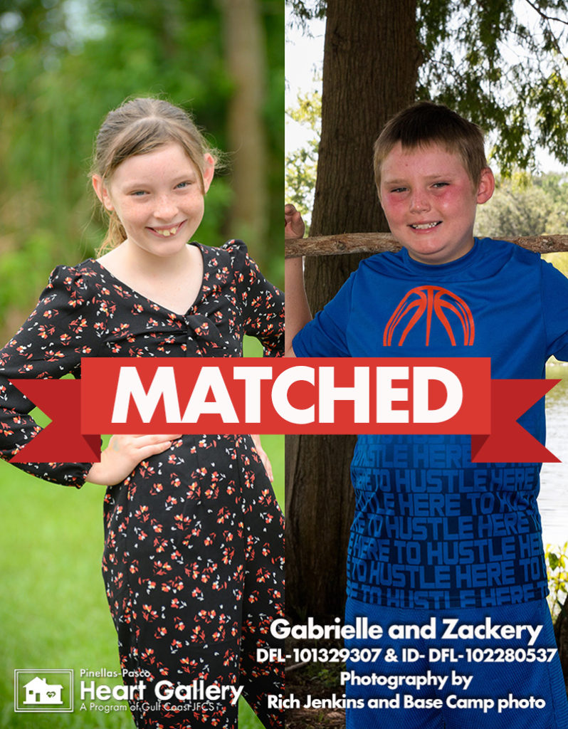 Gabrielle and Zackery