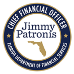 Florida Department of Financial Services, Jimmy Patronis, Chief Financial Officer logo