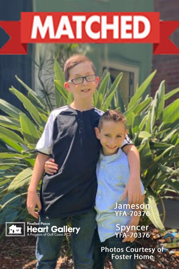 Photo of Spyncer and Jameson