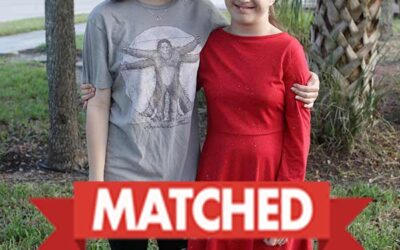 MATCHED: Siblings Brooklyn and Cheyanne
