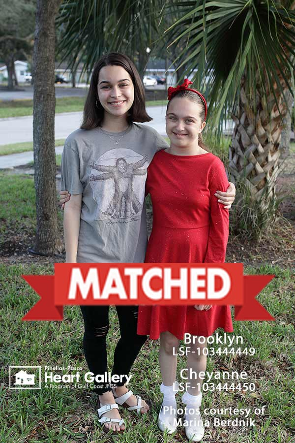 Brooklyn and Cheyanne matched